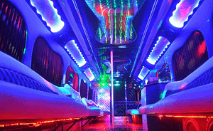 inside a party bus